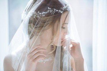 Acconciatura Sposa Semi Raccolta